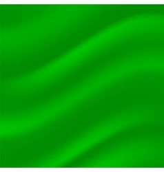 Green Wave Background vector image