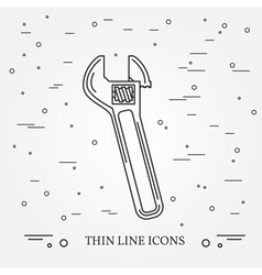 Wrench icon wrench icon wrench icon drawing wrenc vector