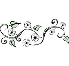 Twining Vines vector image