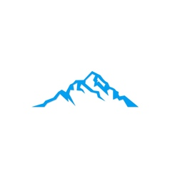 Mountain sign logo vector