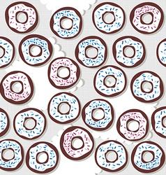 donutswithsprinklessp vector image