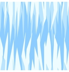 seamless abstract pattern blue ice winter vector image