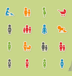 People and family vector
