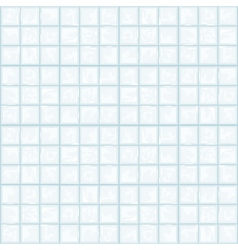 Seamless texture of white tile vector