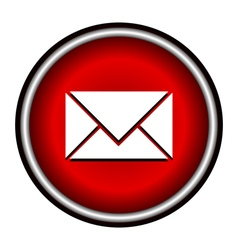 Postal envelope sign e-mail symbol vector