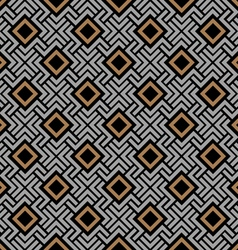 Celtic style geometric seamless pattern vector