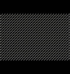 monochrome pattern from rectangles vector image vector image