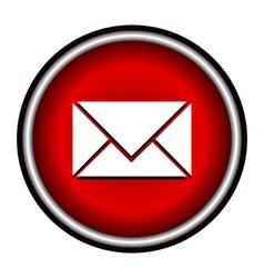 postal envelope sign e-mail symbol vector image