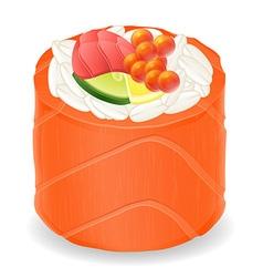 sushi rolls 07 vector image