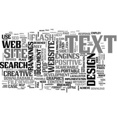 Web design non searchable text text word cloud vector