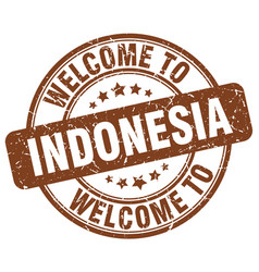 Welcome to indonesia vector