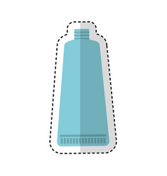 toothpaste cream isolated icon vector image