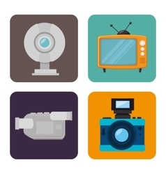 Videos and entertainment vector