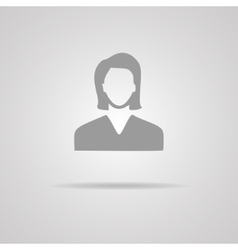 Businesswoman avatar profile picture - vector