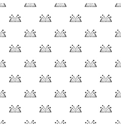 Magic book pattern simple style vector