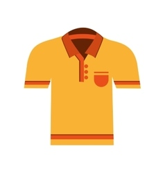 polo shirt icon vector image