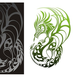 chinese year of the dragon vector image