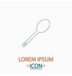 Spoon computer symbol vector