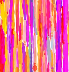 Abstract Colorful Drip Seamless Pattern vector image vector image