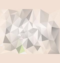 abstract irregular polygon background gray beige vector image vector image