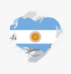 Flag of argentina vector