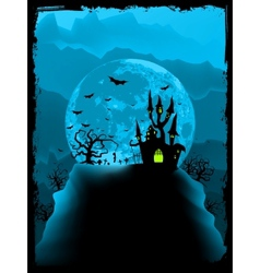 Halloween background vector