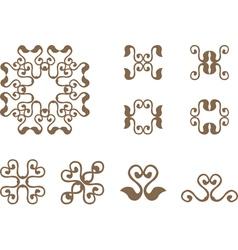 vintage symbol vector image