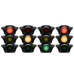 Traffic-light vector