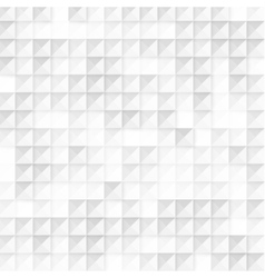 Abstract geometric shape from gray cubes vector