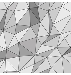 White abstract polygonal background vector