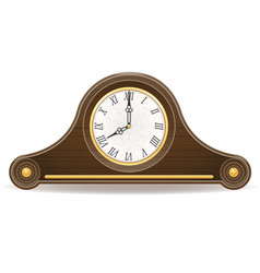 clock old retro icon stock vector image vector image
