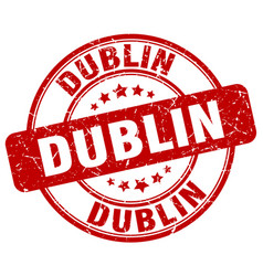 Dublin stamp vector