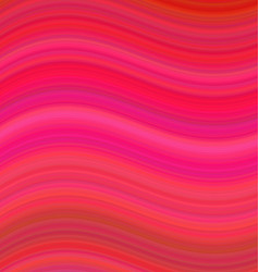 Red abstract smooth wave background design vector