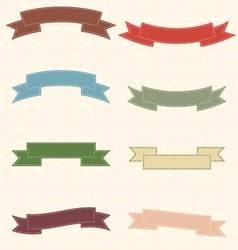 Ribbon-2 vector image