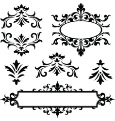 decorative frame ornaments vector