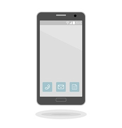 Cell phone icons vector