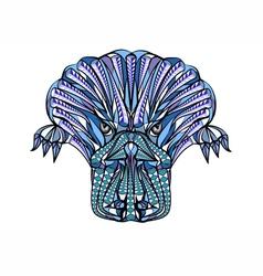 ethnik platypus vector image vector image