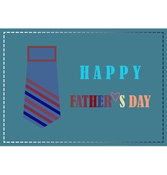 Fathers day design card background vector
