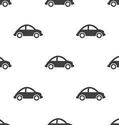 Mini car seamless pattern vector