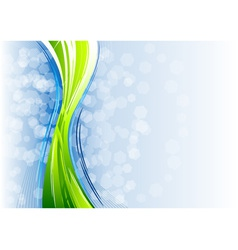 Green and blue abstract backgroun vector