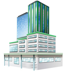 3d design for office building vector