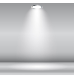 Background with lighting lamp empty space for vector