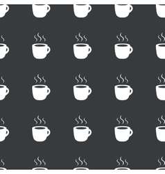 Straight black hot drink pattern vector
