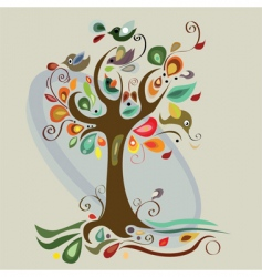 autumn artwork vector image vector image