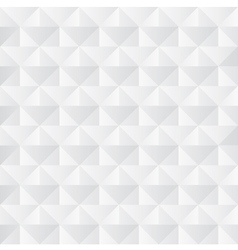 Crumpled paper with geometric seamless pattern vector image vector image