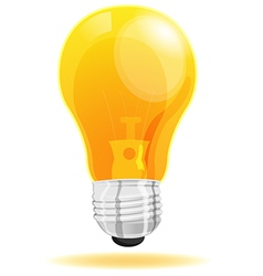 Lamp light icon cartoon vector