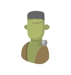 Zombie icon cartoon style vector image