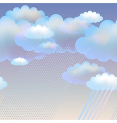 Cclouds vector image