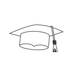 graduation hat icon vector image vector image