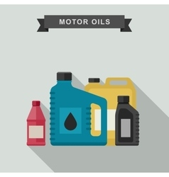 Motor oils icon vector